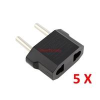 5pcs/lot Universal USA, China, Australian, New Zealand American to European Outlet AC Plug Adapter Electrical Plugs Sockets