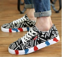 The new  men in England summer breathable men's shoes sneakers han edition increased trend in casual shoes cloth shoes wet shoes