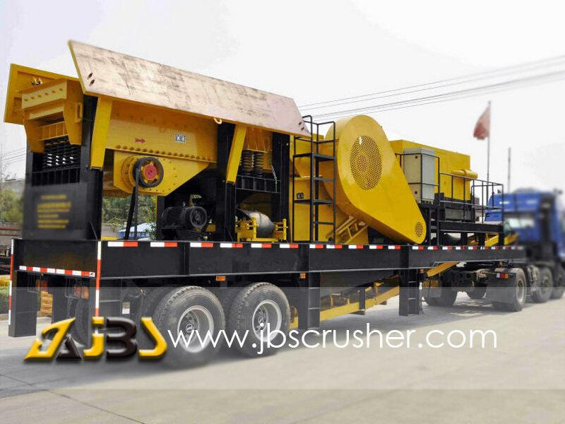 portable crusher machine