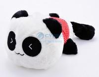 Hot Sale Birthday Gift Quality Cute Laying Plush Panda Pillow With Warm Blanket Plush Cushion Stuffed Toy SV007816 SV16