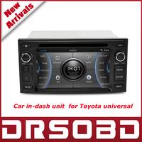 "CASKA 6.2"" CAR DVD player with GPS navigation system bluetooth CSR A9 Windows CE 6.0 for Toyota Universal Car in-dash unit UQ8"