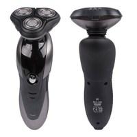 Rrechargeable shaver Triple blade 3 segment electric razors Men 3D floating Three Washable Razors Head Shaver