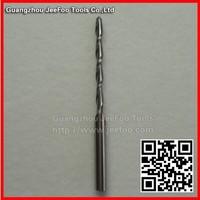 3.175*2.0*22 mm Double Flute Spiral Tungsten Steel Carbide Mill,