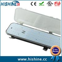 9 pcs  4ft 50w led tri-proof tube light with Aluminum material