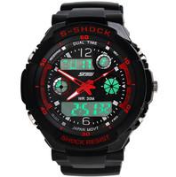 2014 Skmei Men Sports Military Watches New Wristwatches Brand Fashion Casual Wristwatch Men's Digital Watch (red)