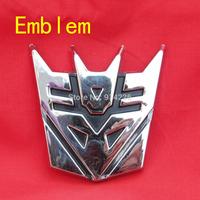 High quality Transformer Decepticons car Labeling Emblem