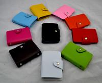 Top quality credit card holder unisex business card case ID wallet bag vintage design 100pcs