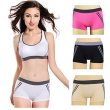2014 Fashion Seamless Fitness Elastic Running Yoga Clothing And Casual Sportswear Underwear Women Gym Shorts(China (Mainland))