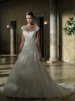New White/ivory Bridal Lace Wedding Dress Custom Size 2-4-6-8-10-12-14-16-18-20+