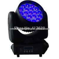 Free shipping  High quality! led spot light 19PCS 12W led moving head/Led flash light