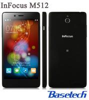 5 inch Quad Core 8MP 4G FDD-LTE NFC Foxcoon InFocus M512 Android 4.4 Smartphone Ips HD 1280*720 MSM8926 1.2Ghz RAM 1G +4G OTG