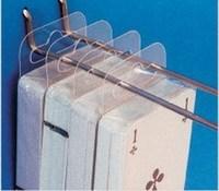 [DHL] wholesale  50*45mm Adhesive Euro  Hang Tab for supermarket price tag pvc hanger