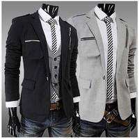 Blazer Homme Mens Designer High Quality Mens Casual Blazer Terno Slim Fit Masculino Casual Jacket Spring Autumn Men Blazer