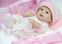 Reborn baby dolls silicone vinyl Silica gel doll toys for children baby doll