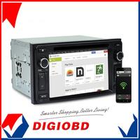 "2014 CASKA 6.2"" CAR DVD player with GPS navigation system bluetooth CSR A9 CE 6.0 for Toyota Universal Car in-dash unit UQ8"