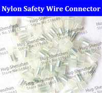 Free shipping 1000pcs Nylon Safety-type wire connector/Close End Wire Terminal for AMG12-10 wire