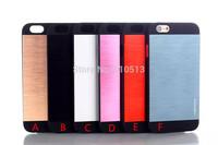 Motomo Brushed Aluminum Metal Dual layer Case for iPhone 6