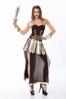 New Sexy Women  Roman Soldier Costumes ,Ancient Greek Fighters Warrior Cosplay,Halloween Costume