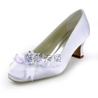 wholesale MZ337 fashion maternity white bridal wedding shoes pumps for women