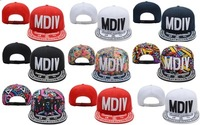 Free shipping! MDIV Dason Snapback caps men baseball hats street hip hop Floral bone  cap hat  neymar  High quality!