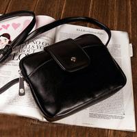 Retro Women Messenger Bag Black Bolsas Femininas Women Handbag Channel Bag  Free Shipping