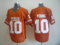 10 Texas Longhorns Vince Young 10 College Football Throwback Jersey ,wholesale American football Elite Stitched Jersey