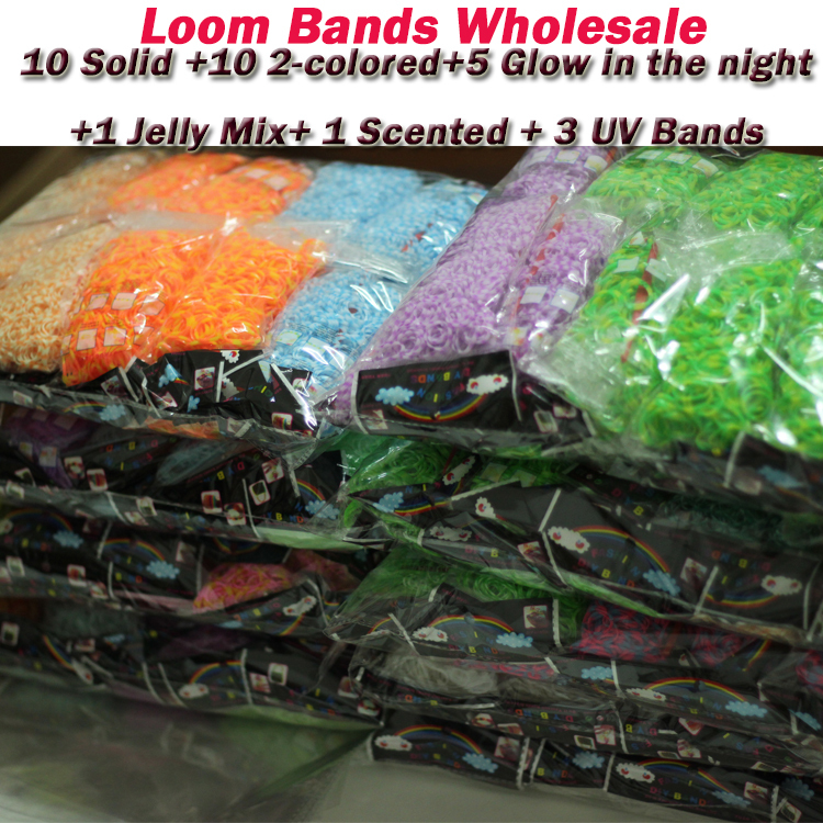 Браслет с брелоками RB Loom Bands 2/diy bands wholesale браслет цепь brand new 50set diy fedex loom bands