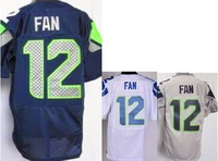 Free shipping 2014 new mens American football jerseys Seattle 12 12th Fan Elite Stitched Jersey