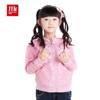 JJLKIDS Girls Coat Sweet Love Fashion Hoodies Outwears Size 4-11 Years