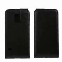 Classic Magnetic Vertical Flip Leather Case For SAMSUNG Galaxy S 5 mini / G800, Free Shipping
