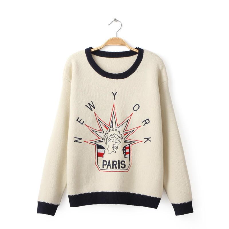 Женский пуловер EG16