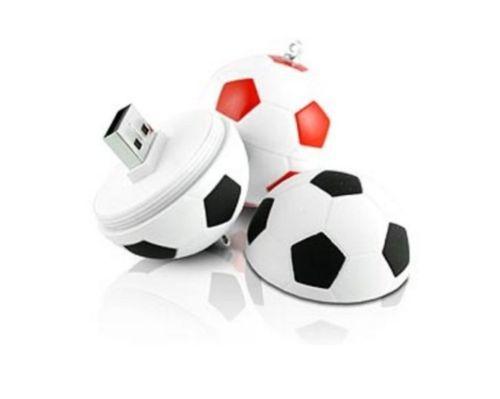 2014 Free shipping New Novelty Soccer Enough Cheap usb 2.0 memory flash stick pendrive 4gb 8gb 16gb 32gb(China (Mainland))