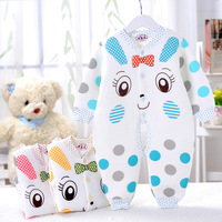 2014 new autumn and winter warm coat jumpsuit fashion newborn baby coveralls Romper