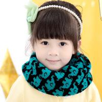 2014 new children fawn Pattern Scarf winter baby warm scarf   W-03