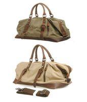 Vintage Canvas Messenger Shoulder Laptop Briefcase Bag School Satchel CB0010