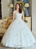 Classic Crystal Elegant Ball  Wedding Dress S21418