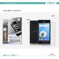 NILLKIN scrub for SONY M35h Xperia SP screen protector Matte anti-fingerprint protective film with retailed package