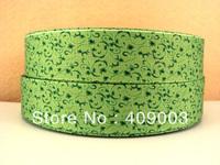 10Y9237 kerryribbon free shipping 1 '' printed ribbon Grosgrain ribbon