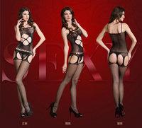 Exclusive European American design sexy underwear women transparent stockings fishnet tights