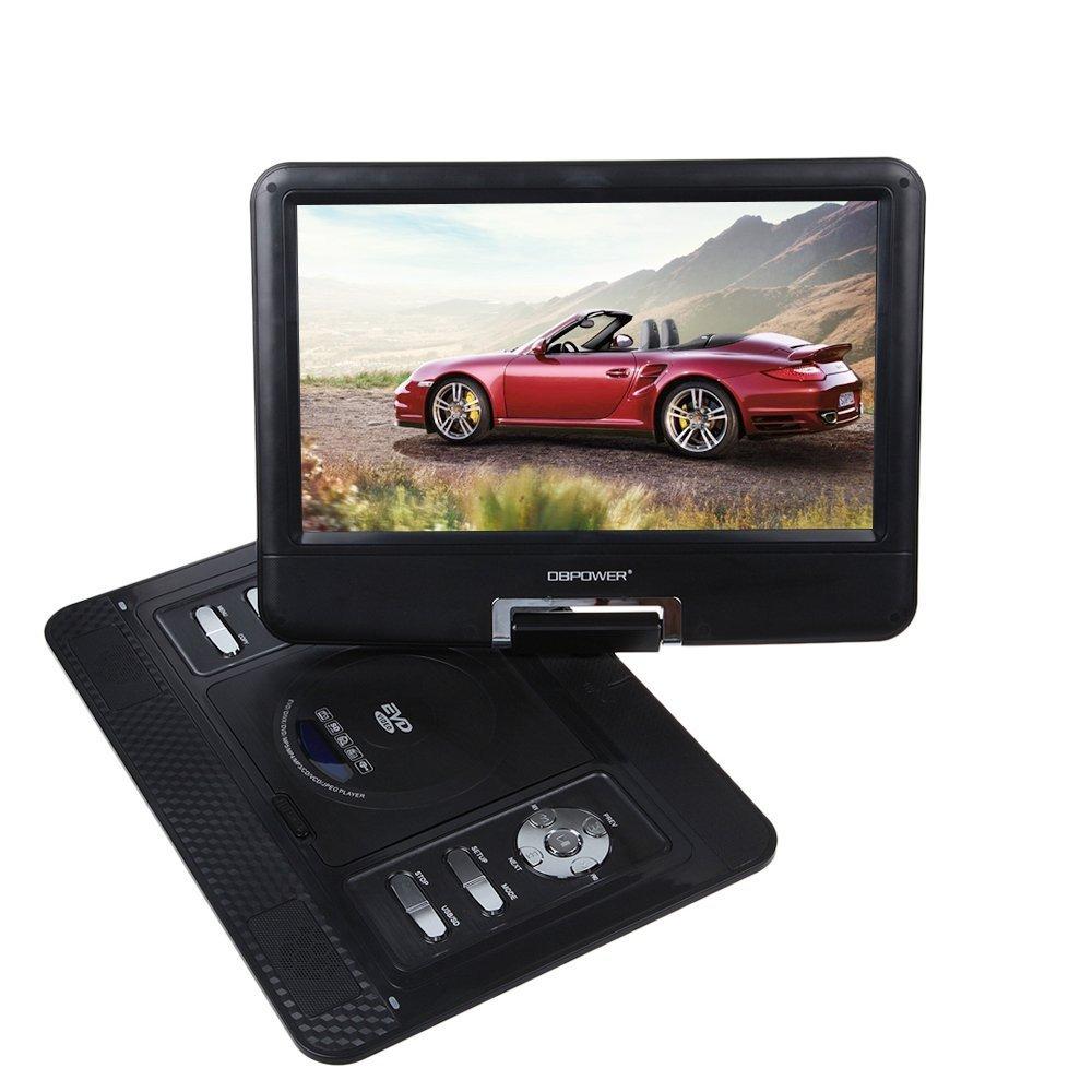 US Free Shipping Black 15'' Portable Multimedia DVD Player Home Swivel Widescreen FM VGA USB SD GAME AVI TV(China (Mainland))