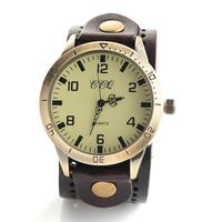 Geniune leather strap dress watch men women casual sport wristwatch 2014 hot sale ddress clock JW1704