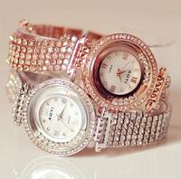 2014 Hong kong Original Women Watches! Austrian Crystal Rhinestone Watches Luxury Women Quicksand Dress Watch Bracelet Watch