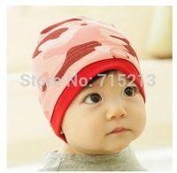 Free Shipping 2014 new Acrylic winter hat children baby hat knitted new super cute little ears infants winter hat headgear