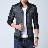 Jacket plus size thin autumn men coat outerwear men's clothing male outerwear men denim jacket