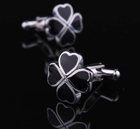Copper  Free shipping NEW hot  Men's Crystal Cuff Links Wedding Party Vintage Cufflinks FLOWER NC007