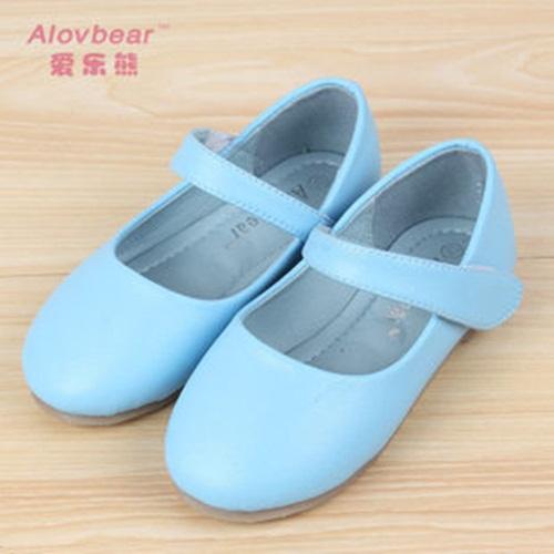 Hot new moda outono crianças sapatos de couro princesa microfibra elegante bonito menina da escola sapatos(China (Mainland))