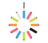 New Hot 360 3.5mm Klick quick button Xiaomi Mikey smart Mi Key for xiaomi Smartphone dustproof plug andriod dust plug  10PCS