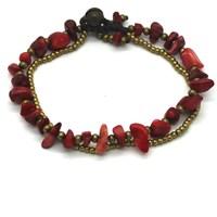 2014 Popular Natural Stone Charm&Handmade Bracelet Multi-Color Optional For Women 10 Colors