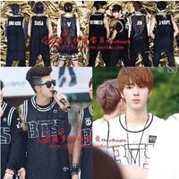 BTS bangtan boysJIMIN V JUNGKOOK JHOPE RapMonsterSUGA sleeveless baseball uniform bts posterbts album