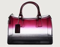 Furly Brand Candy Color Women Jelly Bag Day Clutch Women Waterproof Handbag Shoulder Bag Large Tote Bag Beach Bolsa